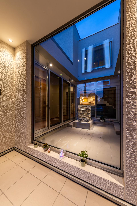 広島の建築設計事務所かんくう建築デザインのかんくうの家づくりの5.住宅完成後、10年間は点検に伺っています