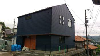 広島の建築設計事務所 かんくう建築デザインの八木の家の外観