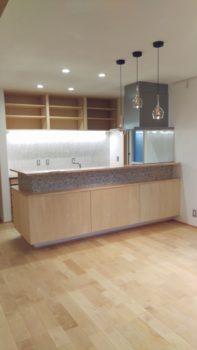 広島の建築設計事務所 かんくう建築デザインの八木の家のキッチン