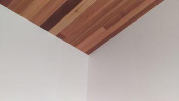 広島の建築設計事務所 かんくう建築デザインの斜め天井