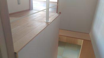 広島の建築設計事務所 かんくう建築デザインのフローリング切りっぱなし
