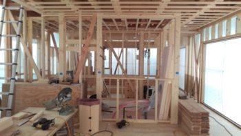 広島市安佐南区の建築設計事務所 かんくう建築デザインの古市の家の中間検査3