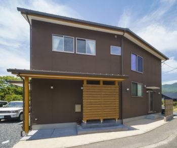広島市安佐南区 建築設計事務所 かんくう建築デザイン 三入南の家 外観2