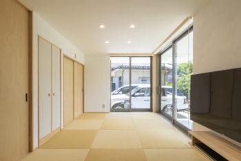 広島市安佐南区 建築設計事務所 かんくう建築デザイン 三入南の家 和リビング2