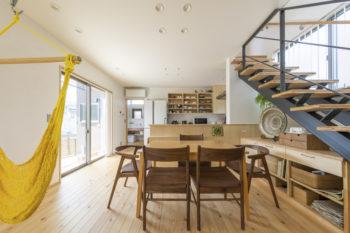 広島市安佐南区 建築設計事務所 かんくう建築デザイン ダイニング1