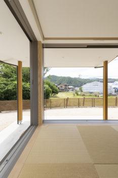広島市安佐南区 建築設計事務所 かんくう建築デザイン 三入南の家 和リビング1