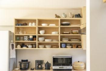 広島市安佐南区 建築設計事務所 かんくう建築デザイン 三入南の家 食器棚