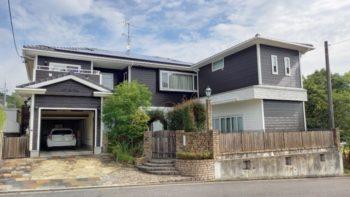 広島市安佐南区 建築設計事務所 かんくう建築デザイン 四季が丘の家 外観