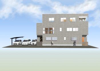 広島市安佐南区 建築設計事務所 かんくう建築デザイン 小谷の家CG2