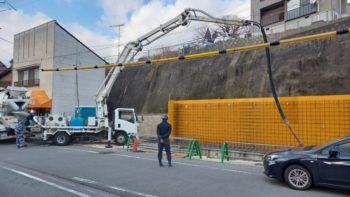 広島市安佐南区 建築設計事務所 かんくう建築デザイン L型擁壁3
