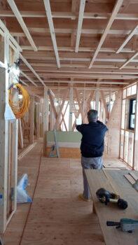広島市安佐南区 建築設計事務所 かんくう建築デザイン 小谷の家 中間検査