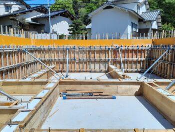 広島市安佐南区 建築設計事務所 かんくう建築デザイン 高基礎