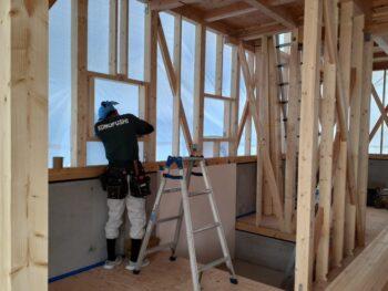 広島市安佐南区 建築設計事務所 かんくう建築デザイン 中間検査前チェック