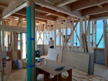 広島市 建築設計事務所 かんくう建築デザイン みくまりの家 中間検査
